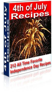 4th of July Recipes Ebook